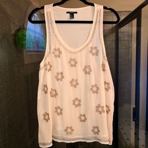 Forever 21 beaded tunic top